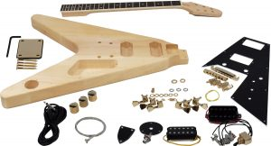 Solo FV Style DIY Guitar Kit, Basswood Body