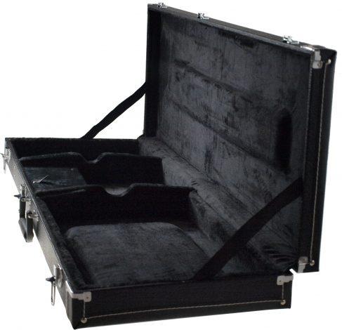 Solo Large Hardshell Electric Guitar Case, Black
