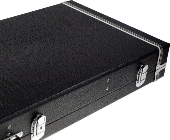Solo Large Hardshell Electric Guitar Case, Black