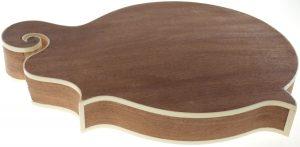 Solo F Style Mandolin Kit, Sapele Body, Spruce Top