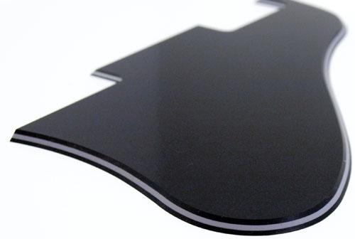 Solo Pro 335 Style 3 Ply Pickguard, Black