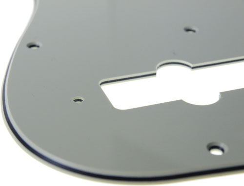 Solo Pro J Bass 3-Ply Pickguard, 11 Holes, Mint Green