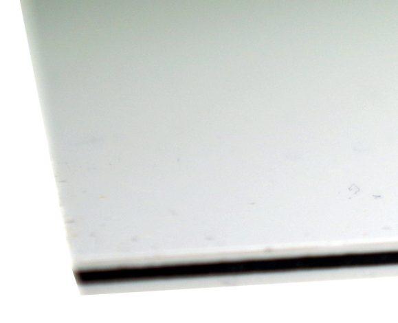 Solo Pro 3-Ply Pickguard Sheet Blank, White