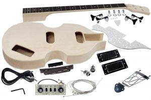 Solo DIY Beatle Style Bass Guitar Kit