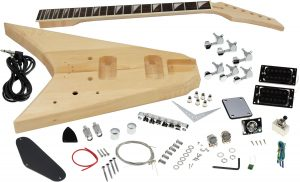 Solo RR Style DIY Guitar Kit, Basswood Body