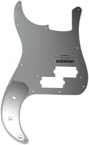 Solo Pro P Bass 3-Ply Pickguard, 13 Holes, Tortoise