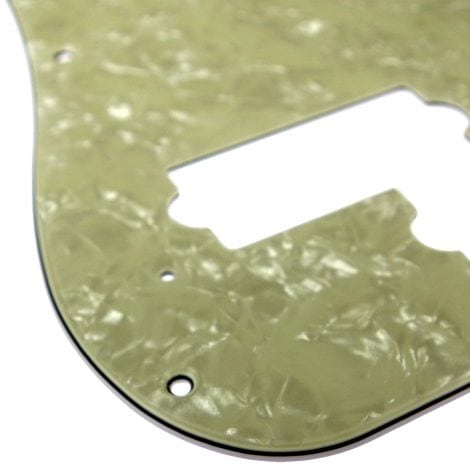 Solo Pro P Bass 3-Ply Pickguard, 13 Holes, Vintage Pearl