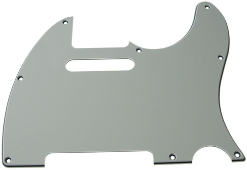 Solo Pro Tele Style 3-Ply Pickguard, 8 Holes, Mint Green