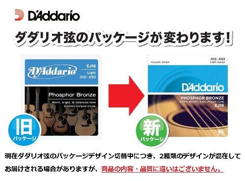 DAddario EJ11 8020 Bronze Acoustic Guitar