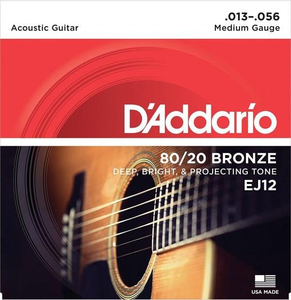 DAddario EJ12 8020 Bronze Acoustic Guitar