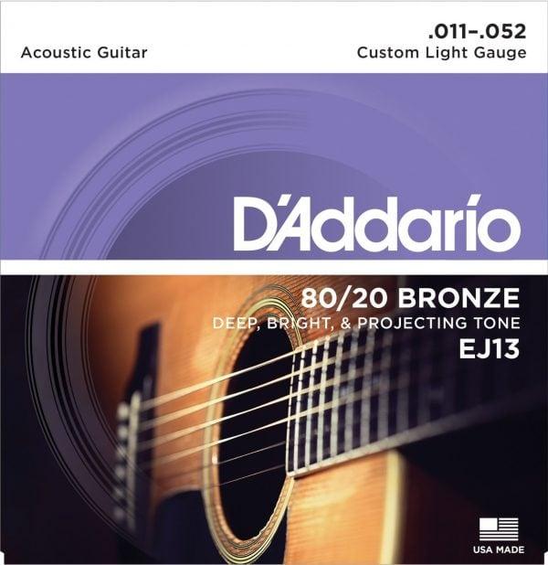 DAddario EJ13 8020 Bronze Acoustic Guitar