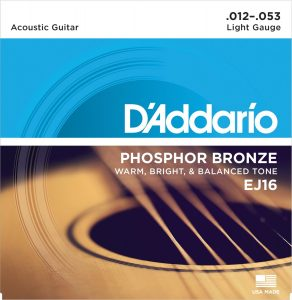 DAddario EJ16 Phosphor Bronze Acoustic Guitar