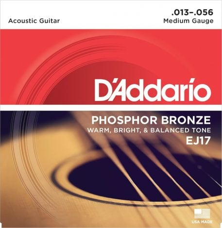 DAddario EJ17 Phosphor Bronze Acoustic Guitar