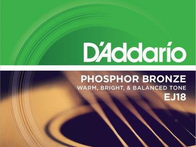 DAddario EJ18 Phosphor Bronze Acoustic Guitar