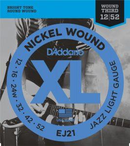 DAddario EJ21 Nickel Wound Electric Guitar
