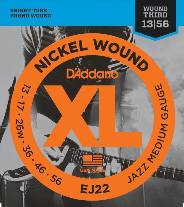 DAddario EJ22 Nickel Wound Electric Guitar