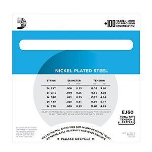 DAddario Nickel 5
