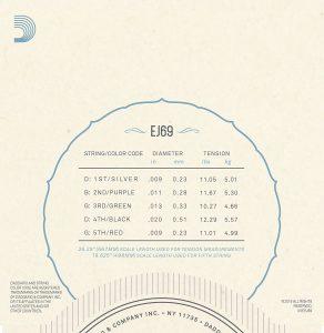 DAddario EJ69 Phosphor Bronze 5