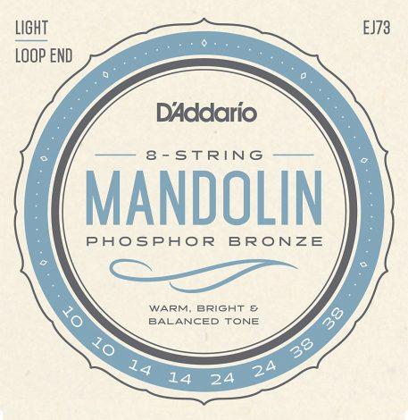 DAddario EJ73 Phosphor Bronze Mandolin