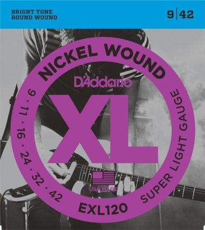 DAddario EXL120 Nickel Wound Electric Guitar