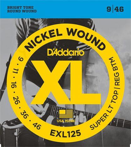 DAddario EXL125 Nickel Wound Electric Guitar