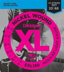 DAddario EXL150 Nickel Wound Electric Guitar