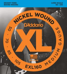 DAddario EXL160 Nickel Wound Bass Guitar