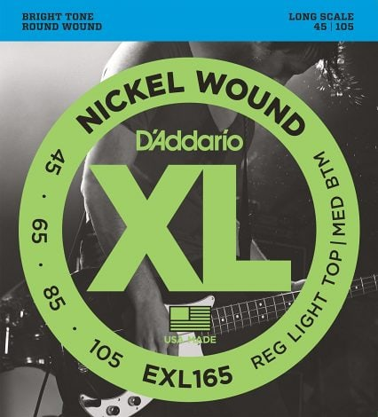 DAddario EXL165 Nickel Wound Bass Guitar