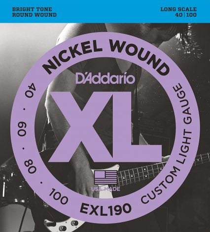 DAddario EXL190 Nickel Wound Bass Guitar