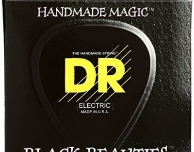 DR-Strings-Electric-Guitar-Strings-Black-Beauties-Extra-Life-Black-Coated-9-42-B0002H0SWQ