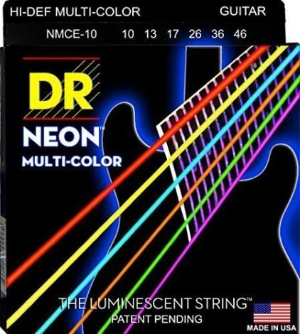 DR Strings NMCE-10 Neon Electric StringsDR Strings NMCE-10 Neon Electric Strings