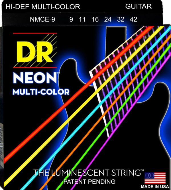 DR Strings NMCE-9 DR Neon Electric Strings