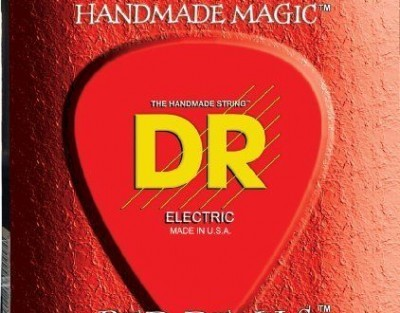 DR Strings RDE-9 Red Devils-Extra-Life Red Coated Electric 9-42