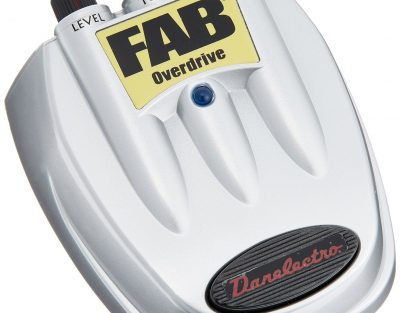 Danelectro-D 2 Fab Overdrive Effects Pedal