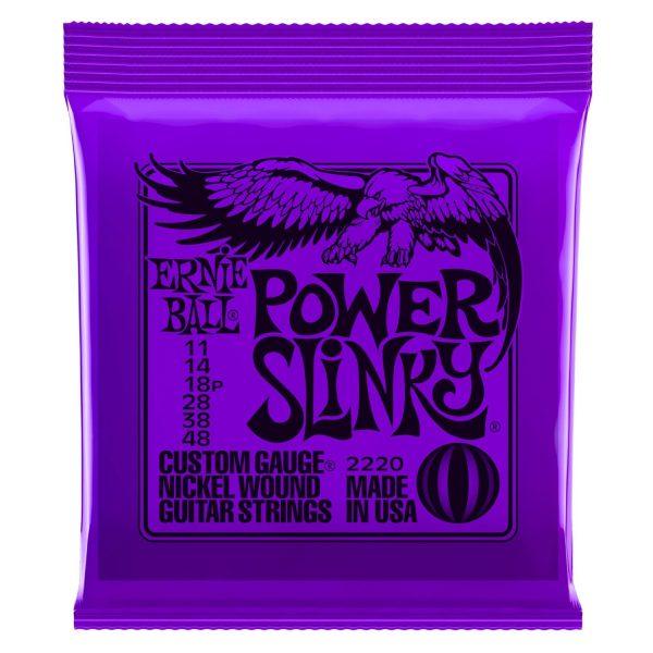 Ernie Ball Power Slinky Nickel Wound Set 2220 (11-48)