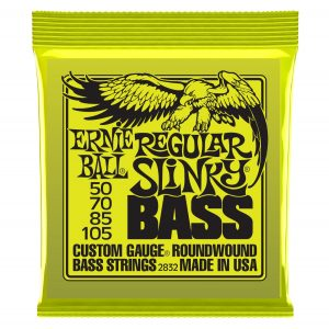 Ernie Ball Regular Slinky Nickel Wound Bass Set 2832 (50-105)