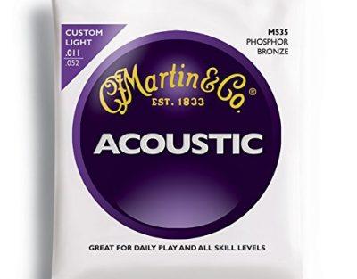 Martin-M535-Traditional-Phosphor-Bronze-Custom-Light-Acoustic-Guitar-Strings-B001AHC2YE